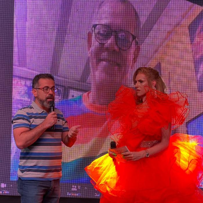 Miss Brasil Gay Rainbow Fest: Evento Digital: homenagem a Marco Trajano